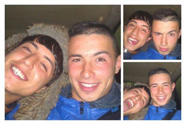 Les frères #fous :*)
