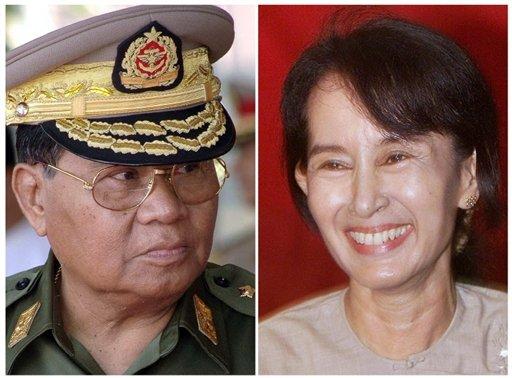 Les dirigeants birmans quittent l'armée
