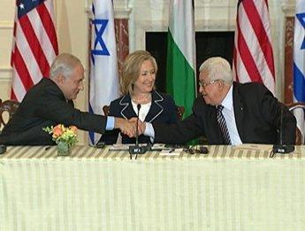Mahmoud Abbas et Benjamin Netanyahou se reverront les 14 et 15 septembre Réunis à Washington,
