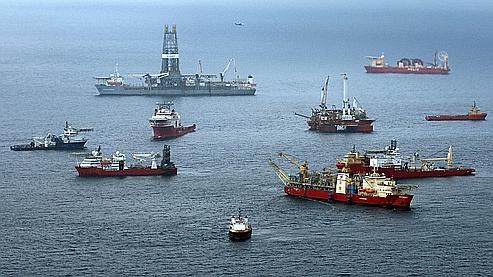 Marée noire : le puits de BP ne serait plus une «menace»