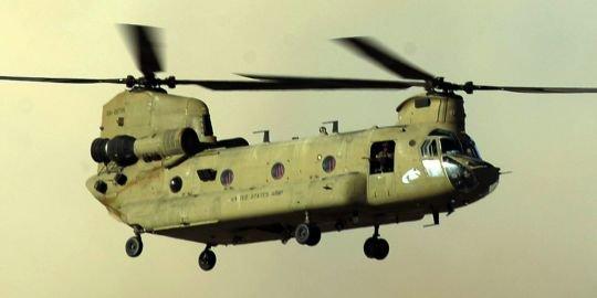 """L'hélicoptère da la coalition"""" probablement"""" battu par les talibans"""