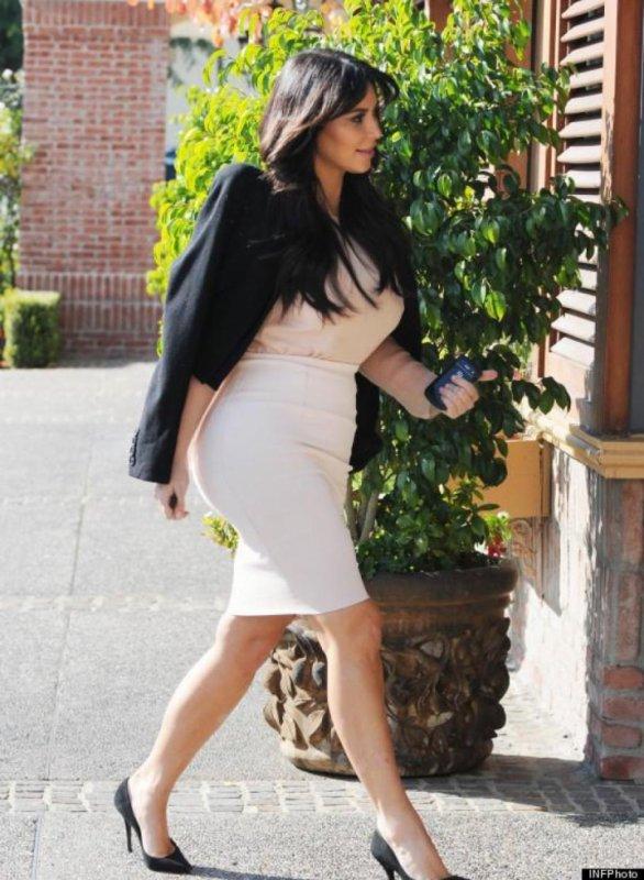 La peur de Kim Kardashian !