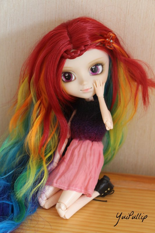 Photo de Louise et Dashie + Infos sur mes articles vente Dolls !