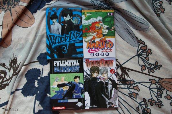 Mes achats pour mes Dolls/Achats Manga et du blabla à regarder :)
