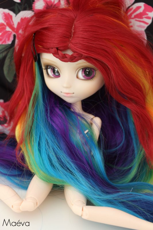 Séance photo de Rainbow Dash nu comme un ver 8D :1: