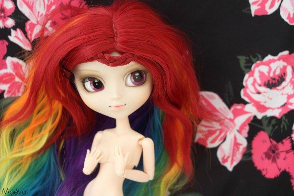 Séance photo de Rainbow Dash nu comme un ver 8D :1: