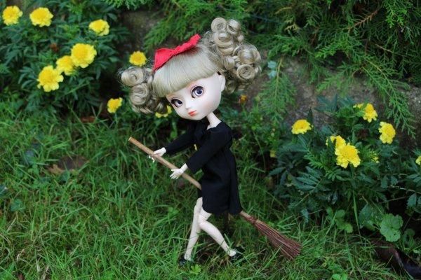 Ma photo pour le concours de Private Dolls d'Insta, thème : Studio Ghibili