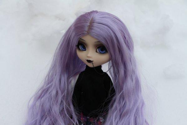 #2 Suite de mes dolls dans la neige :D