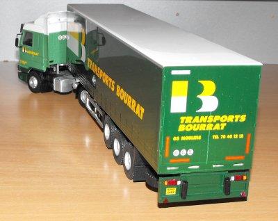 SCANIA 113H  380CV SEMI TAUTLINER METACO TRANSPORTS BOURRAT