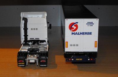 VOLVO FH RESTYLE  460CV  SEMI TAUTLINER TRANSPORTS MALHERBE