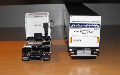 DAF XF 105 480CV  SEMI TAUTLINER TRANSPORTS JACQUEMMOZ