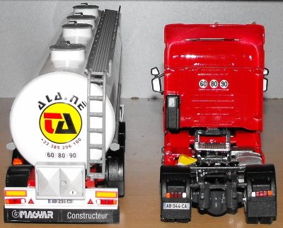 SCANIA R440 SEMI CITERNE ALIMENTAIRE  TRANSPORTS  ALAINE