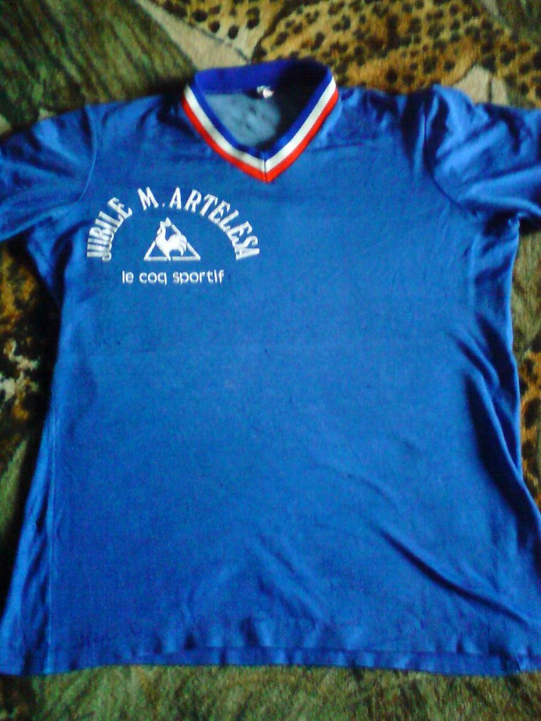 maillot jubilé marcel artélésa 1975