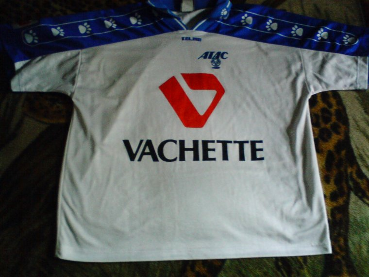 maillot atac troyes 1998 1999 adam