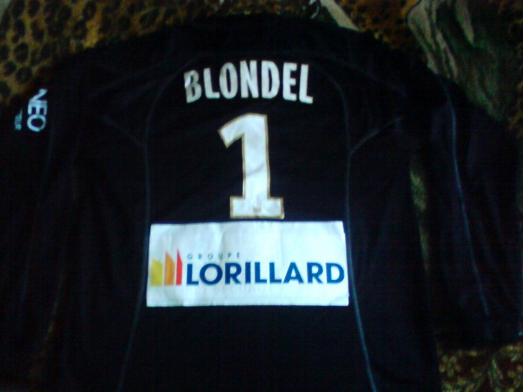 maillot estac 2011 2012 blondel