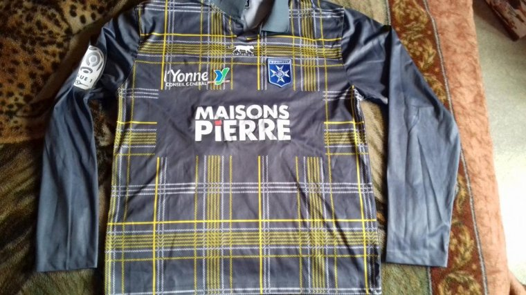 maillot auxerre oliech