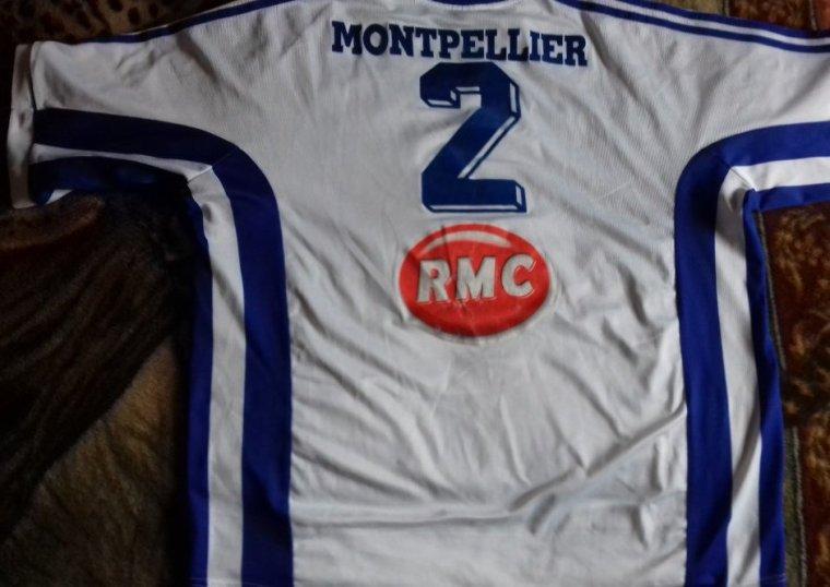 maillot handball ancien montpellier