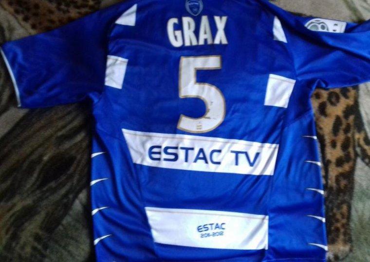 maillot estac 2011 2012 grax