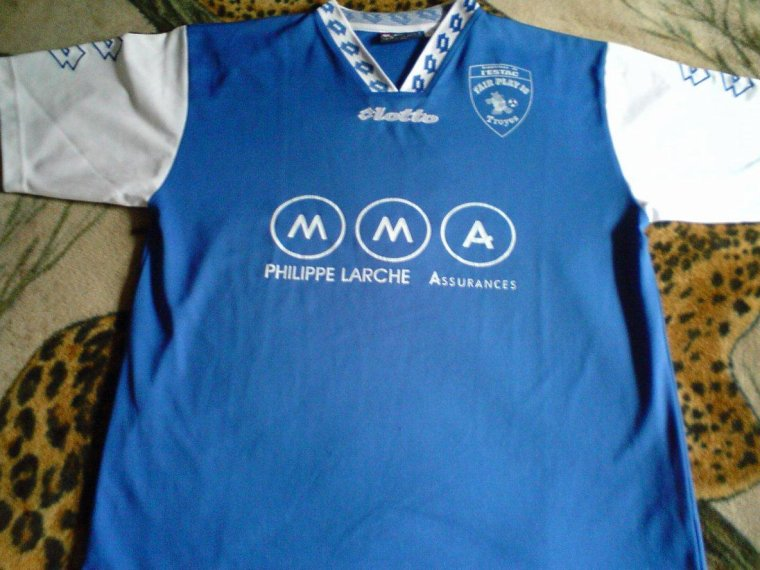 maillot supporters estac troyes