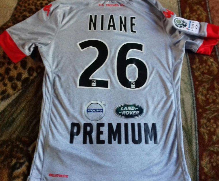 maillot estac 2016 2017 niane