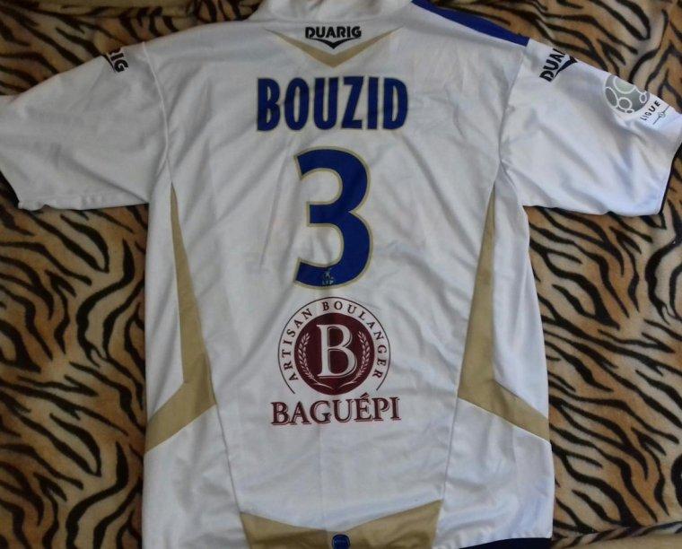 maillot estac 2008 2009 bouzid