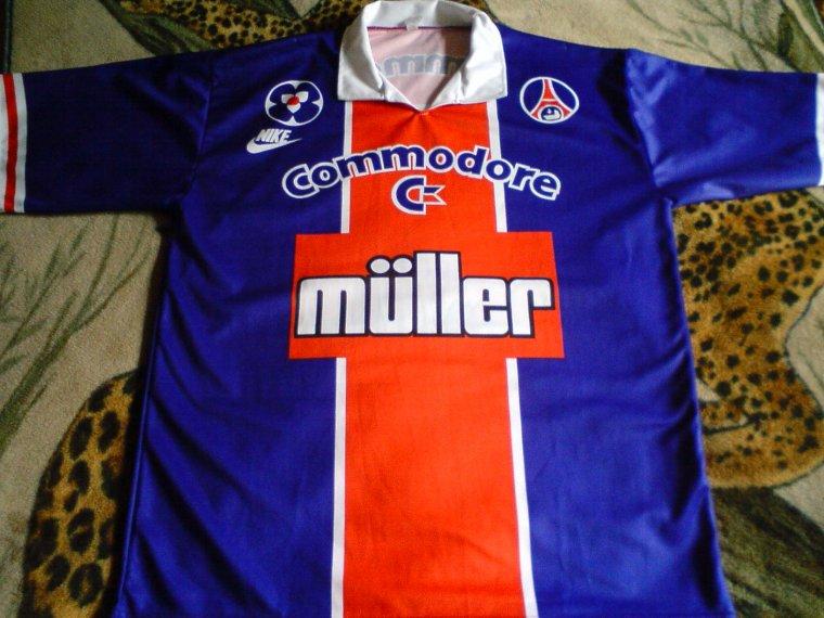 maillot PSG ancien