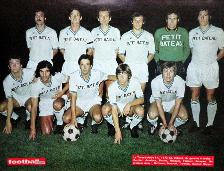 equipe TAF troyes 1972