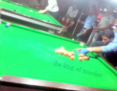 the king offf snooker