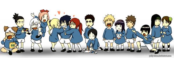 « C'est comme çà que je conçois mon Nindô ! » - Naruto ♡