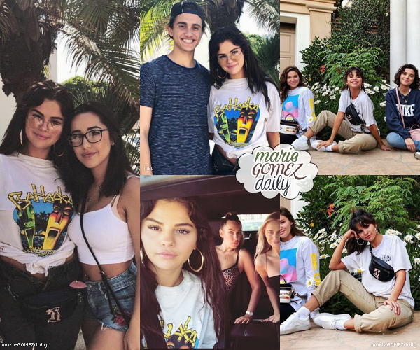 • 11/08/2018 : Photos de Selena préparant la collection pour Coach ! ( Photos en backstage ) Mon avis : Selena est toute chou sur les photos ! Elle rigole et j'aime sa tenue ainsi que son make up ! Top **