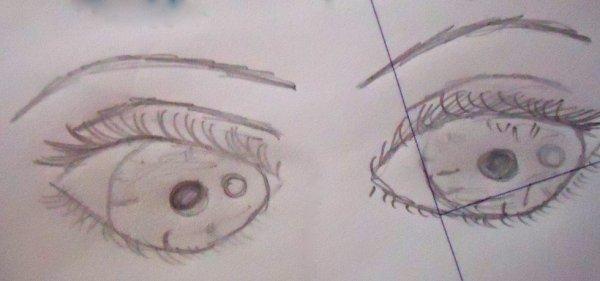 Des yeux très réussi