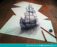 un bateau magnifique