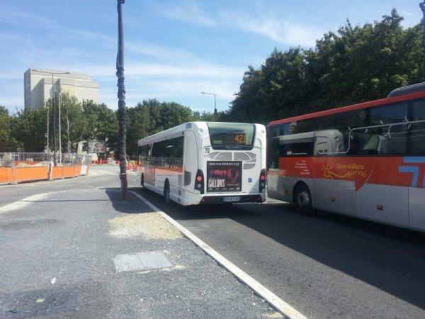 Special Départ : un GX 337 sur la ligne 421 (RATP / Transdev CEAT)