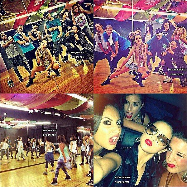 . 01/07/13 : Selena a était vue se rendant au concert de Beyoncé avec des amis a Los Angeles..