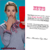 .       « Nouvelle photo du photoshoot Tiger Beat + Projet de film pour Bridgit : Arietty The Borrower . »         .