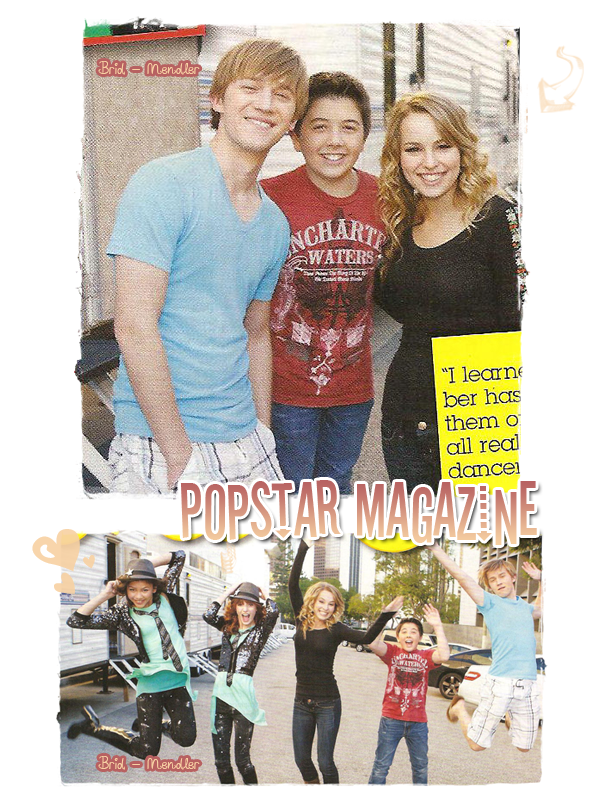 .        « Bridgit dans l'édition de juillet de   Pop Star Magazine   ( photos  inédites + interview )  »                 .