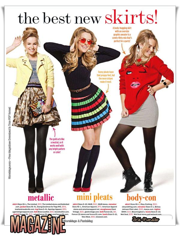 .        « Bridgit pose pour  l'objectif  d'un photographe & pour un magazine ».                 .