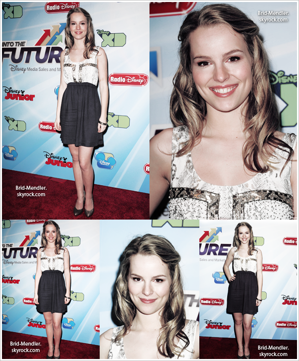 .        « Bridgit au Disney Channel World Wide Kids Upfront ce  13 Mars 2012  »                 .