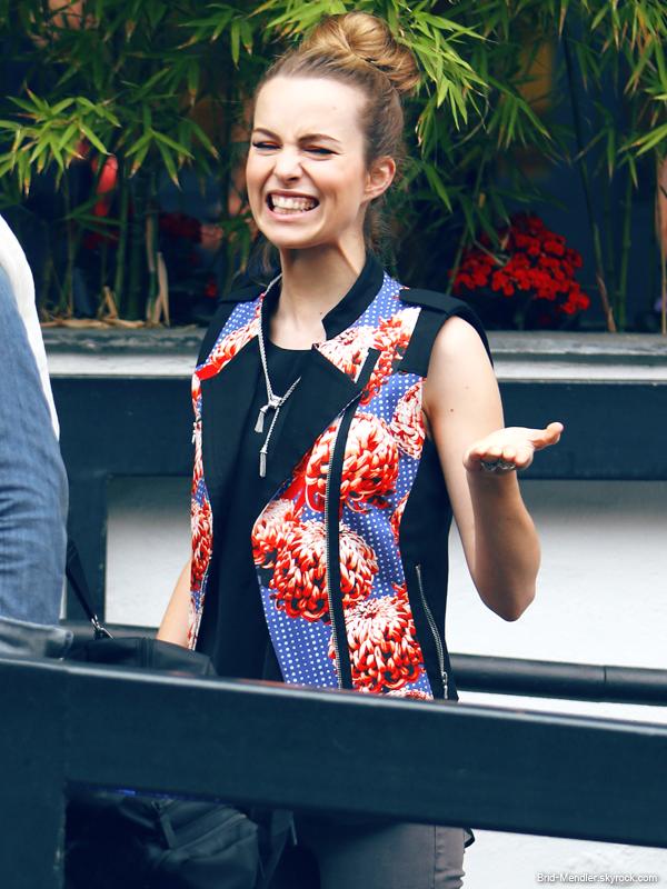 21 Juin 2013 | Bridgit arrivait sur le plateau de DayBreak à Londres pour sa promo'