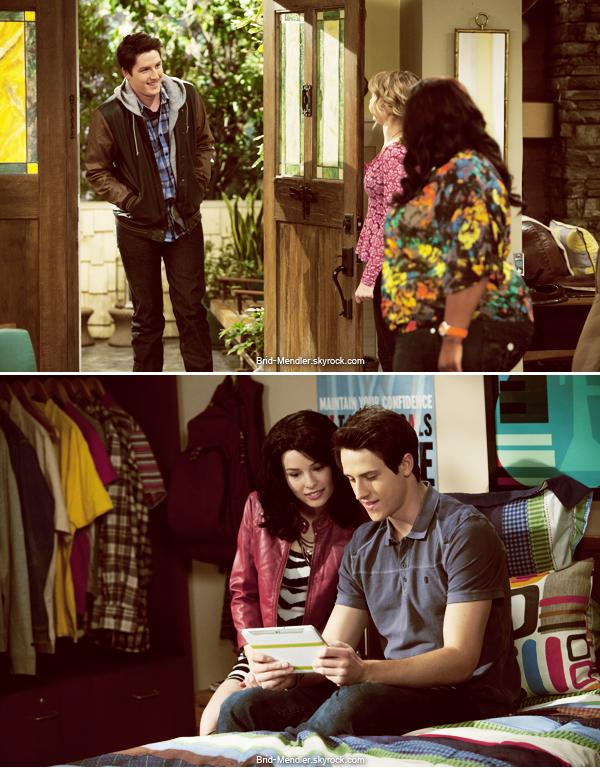 Mai 2013 | Stills de l'épisode 2 de la saison 4 de Bonne Chance Charlie  Doppel Date
