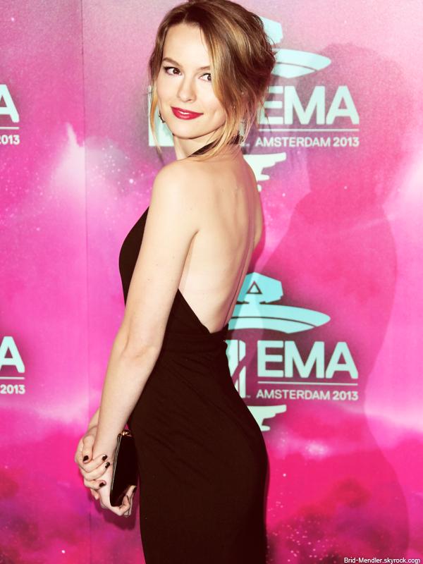 10 Novembre 2013 | Bridgit était à la cérémonie des Europe Music Awards à Amsterdam