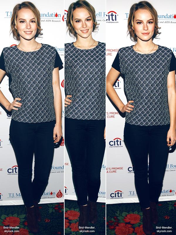 15 Septembre 2013 | Brid' était au Family Honoring Paradigm Talent à New York City