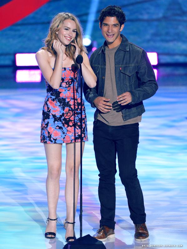 11 Août 2013 | Bridgit a assisté aux Teen Choice Awards 2013 à Universal City en Californie