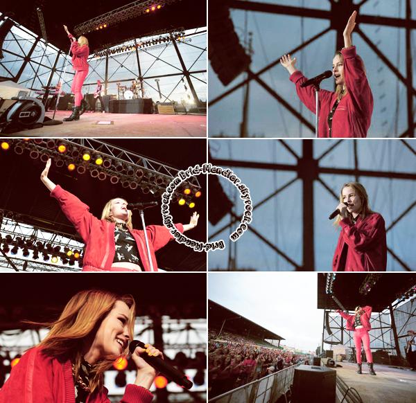 28 Août 2013 | Bridgit s'est produite lors de sa tournée à  Allentown Fairgrounds