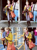 23 Juin 2013 | Bridgit quittait les studios du Sunday Brunch à Londres