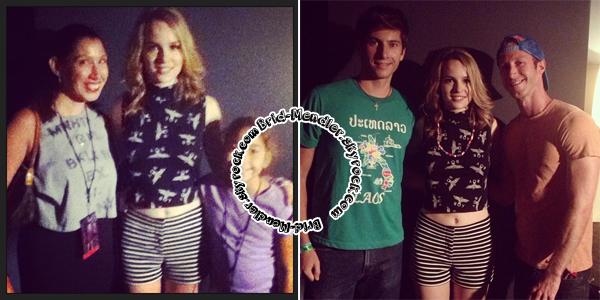 21 Août 2013 | Bridgit continuait sa tournée d'été à Best Buy Theater à New York