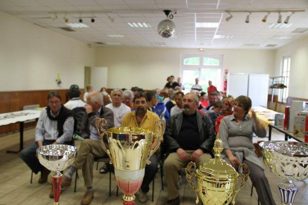 Les élus et les partenaires au circuit de l'EURE à BERNOUVILLE (27)