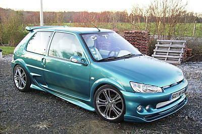 Peugeot 106 tuning