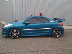 PEUGEOT 207CC HDI 110 Sport Pack TUNING