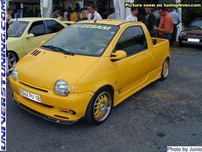 Renault Twingo tuning pik up